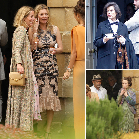 Kate Moss Celebrates Jade Jagger and Adrian Fillary's Wedding With Famous Friends