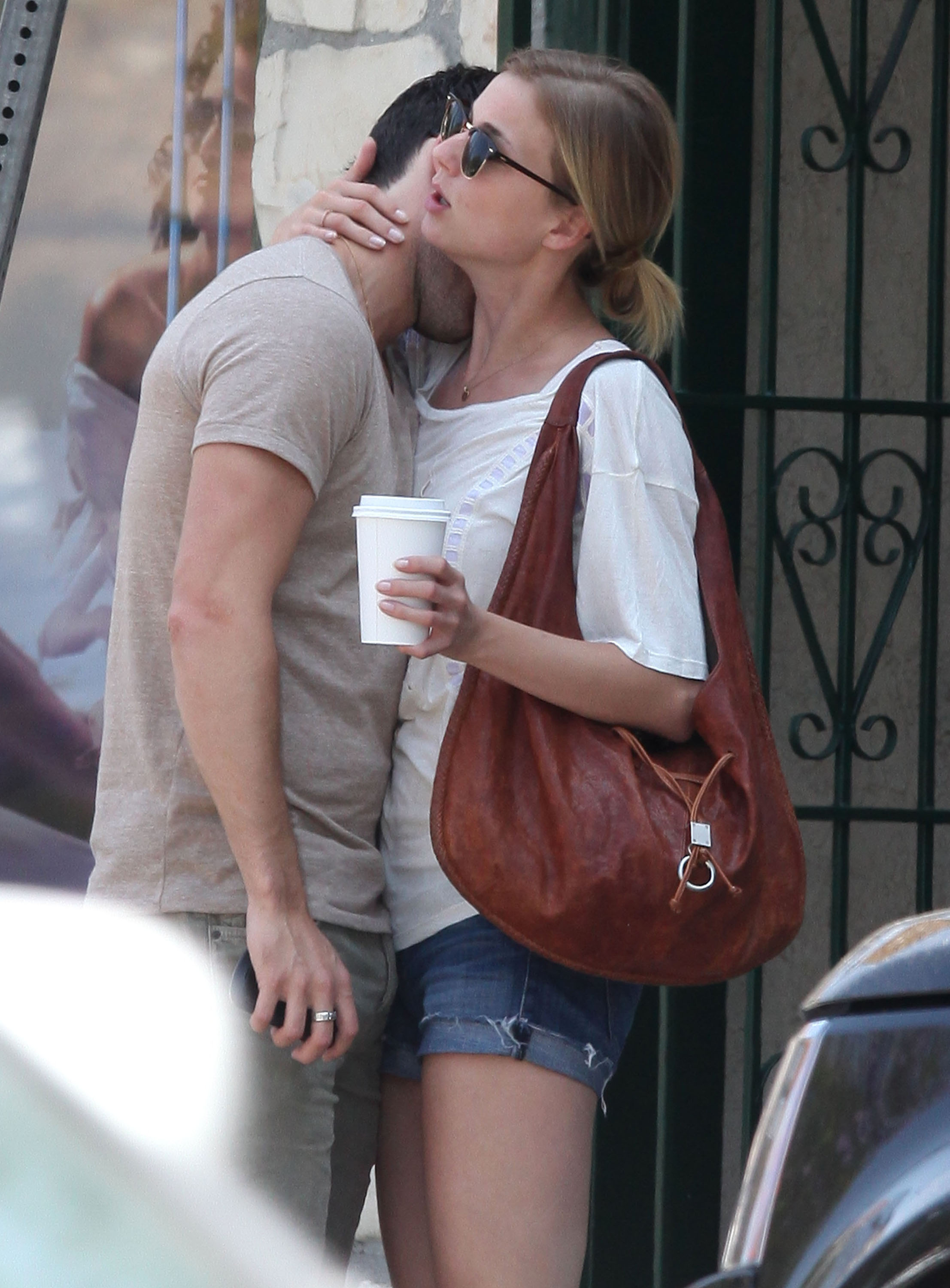 Emily VanCamp and Joshua Bowman were affectionate after ...