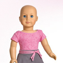 American Girl to Introduce Doll Without Hair