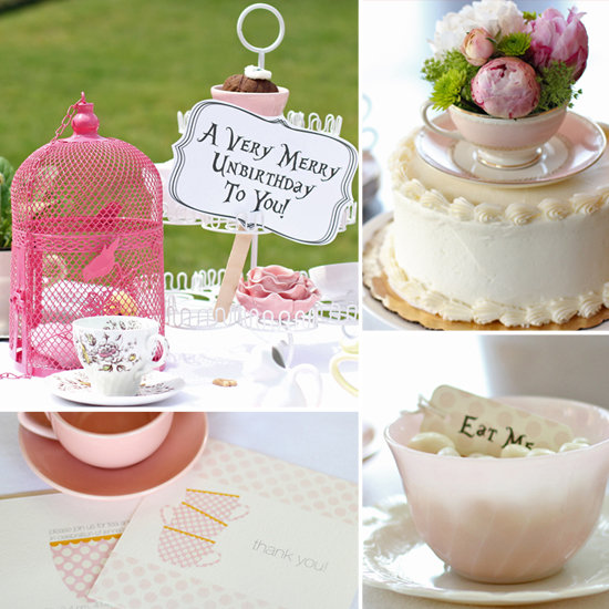 An Adorable Alice in Wonderland-Inspired Birthday Tea Party