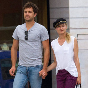 Diane Kruger and Joshua Jackson Show PDA in Paris