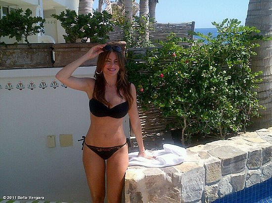 She chose a black two-piece during a Mexico trip in October 2011.  Source: Who Say user Sofia Vergara