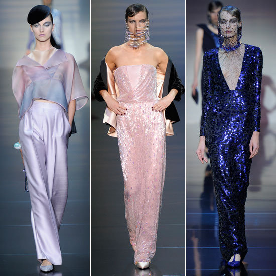Pictures and Review of the 2012 Fall Couture Giorgio Armani Prive Show