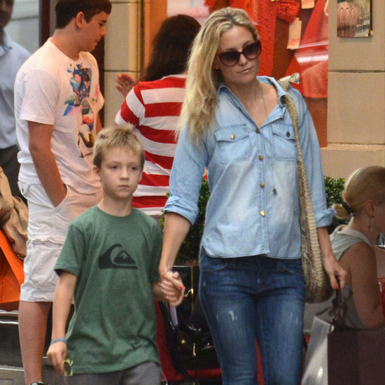 Kate Hudson Ryder Robinson Paris Pictures