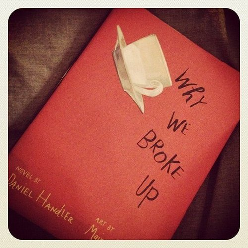 "POPSUGAR Entertainment says, ""Settling in [with] Why We Broke Up by Daniel Handler, which Hailee Steinfeld will star in."""
