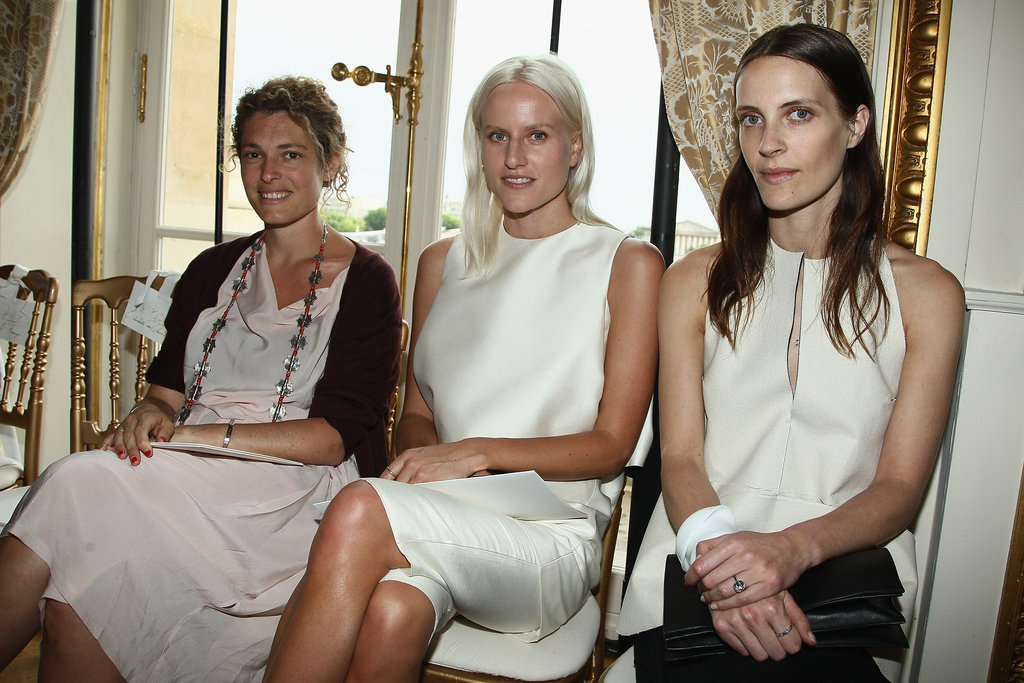 Ginevra Elkann, Olympia Scarry and Vanessa Traina