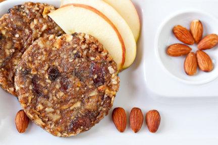 Raw Vegan Apple Pie Cookie