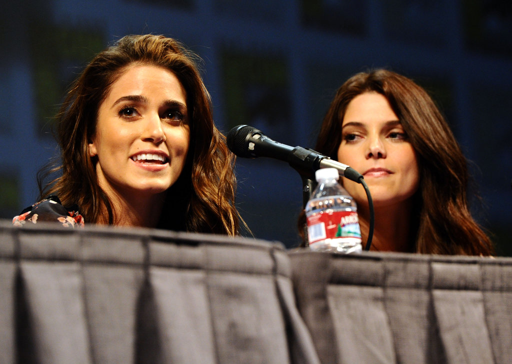 Nikki Reed and Ashley Green spoke about Breaking Dawn Part 1 in 2011.