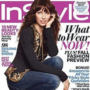 Jessica Biel Talking About Justin Timberlake in InStyle
