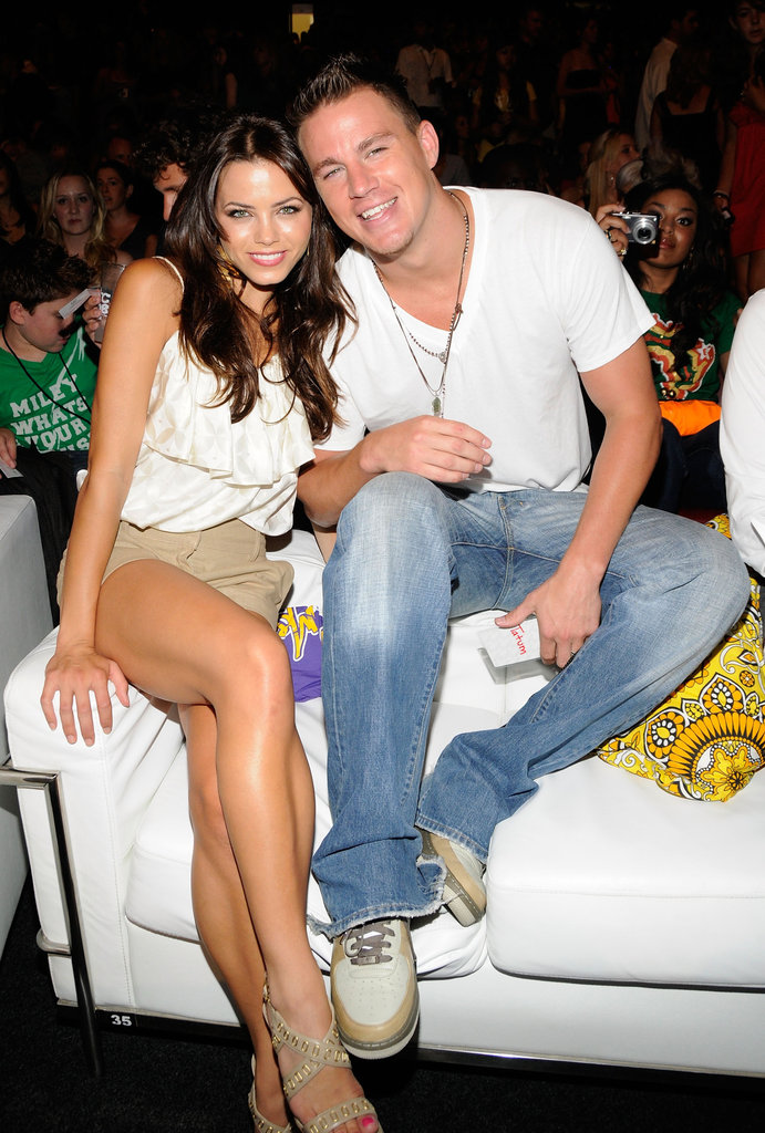Jenna and Channing cozied up during the August 2008 Teen Choice Awards.