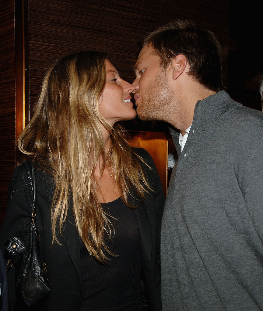 Tom and Gisele kept close while in NYC in March 2008.