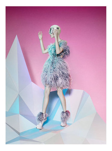 The feathered future is here, thanks to Alexander McQueen.
