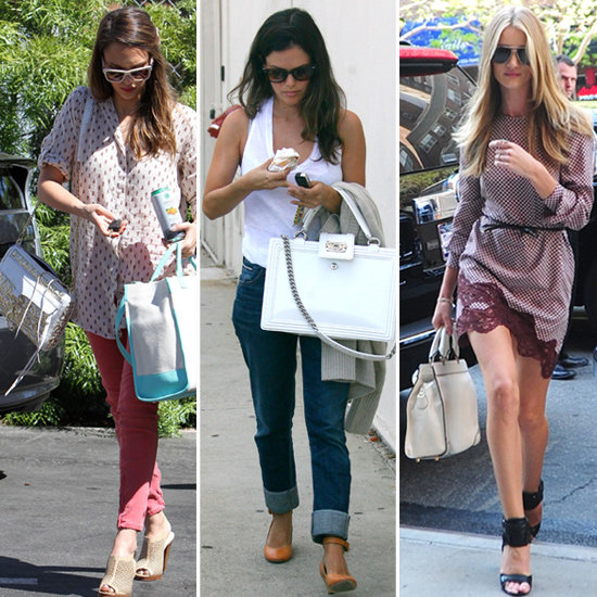 White Handbags (Celebrity Pictures)