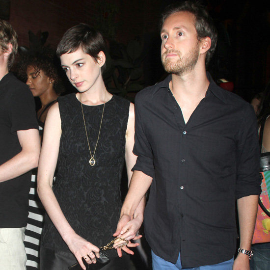 Anne Hathaway and Adam Shulman Date Night Pictures