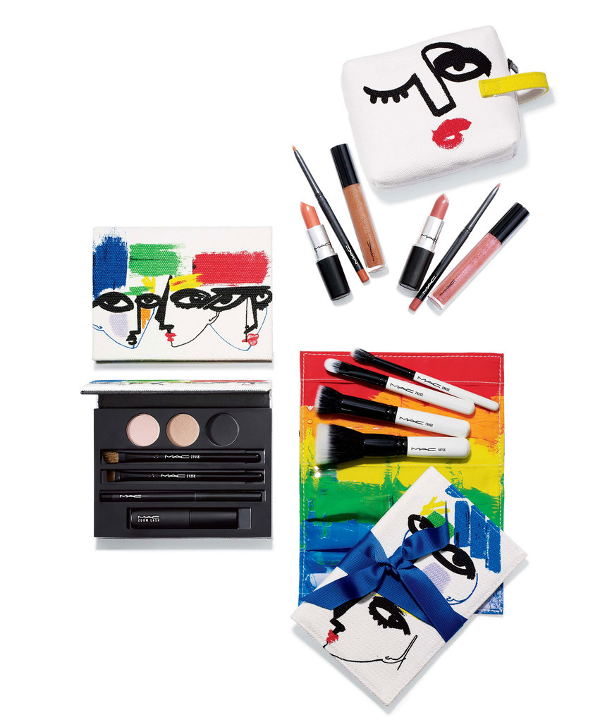 MAC Goes Abstract With Artist Julie Verhoeven