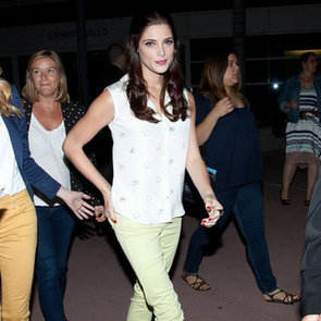 Neon Skinny Jeans (Celebrity Pictures)
