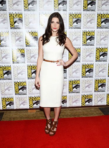 Ashley Greene attended the Breaking Dawn Part 2 panel during Comic-Con.