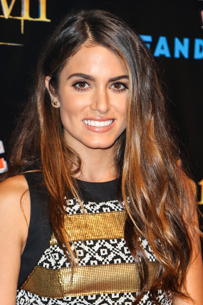 Nikki Reed flashed a smile at the Breaking Dawn Part 2 party at Comic-Con.