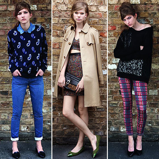 British It-Girl Cool Done Right: Preview Topshop's Autumn Winter 2012 Look Book Before It Goes Online