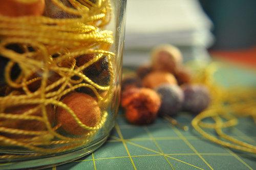 String a Few Beads