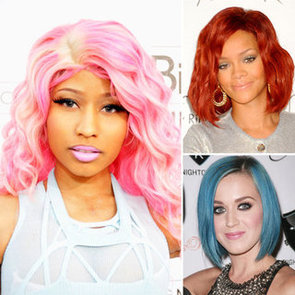 The History of Bright, Big, Bold Hair Colour