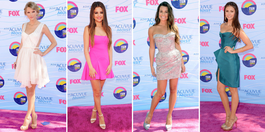 2012 Teen Choice Awards 2012: Who Wore What