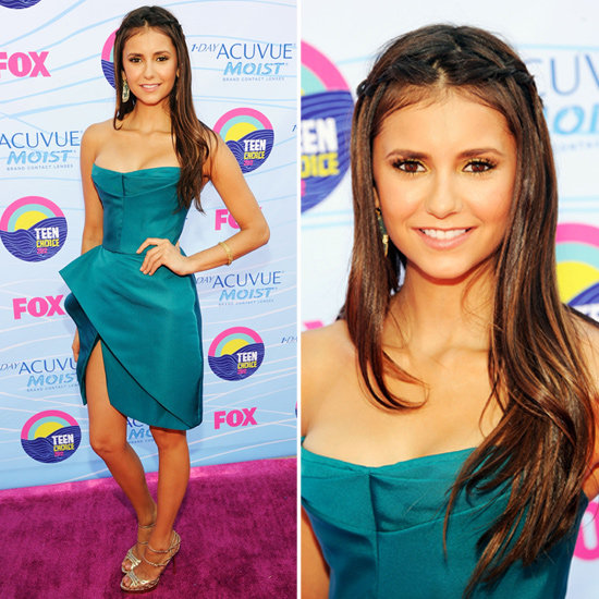 Nina Dobrev at Teen Choice Awards 2012