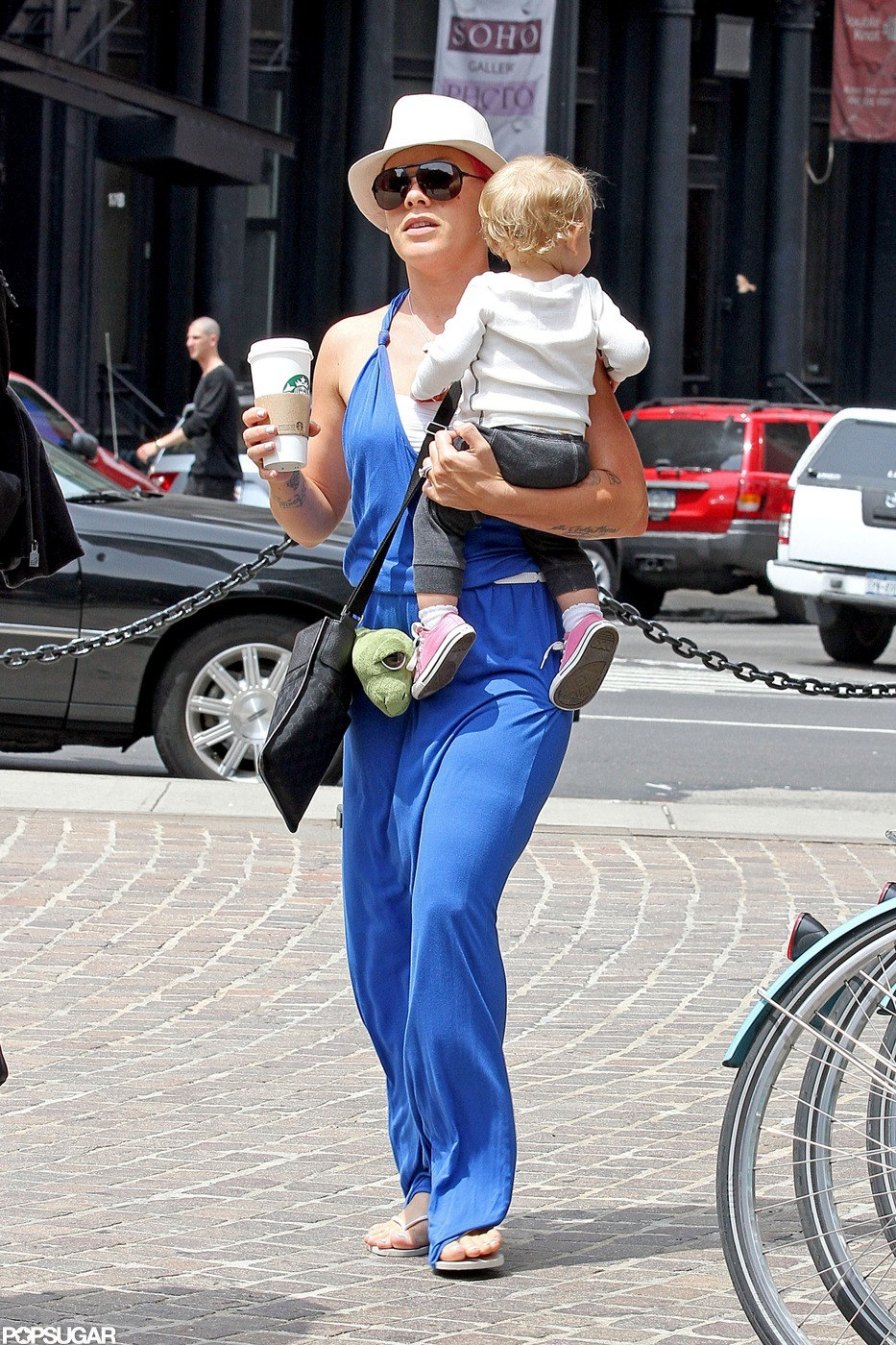 Pink and Little Willow Walk Right Out of NYC and Into Chicago