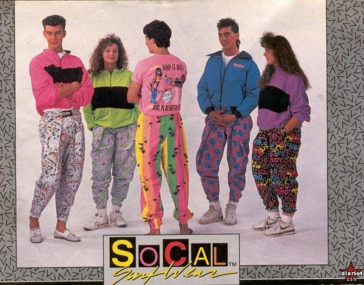 Late 80s Fashion Trends Parachute Pants