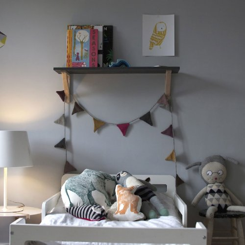 Shared Nursery For a Baby and Her Big Brother