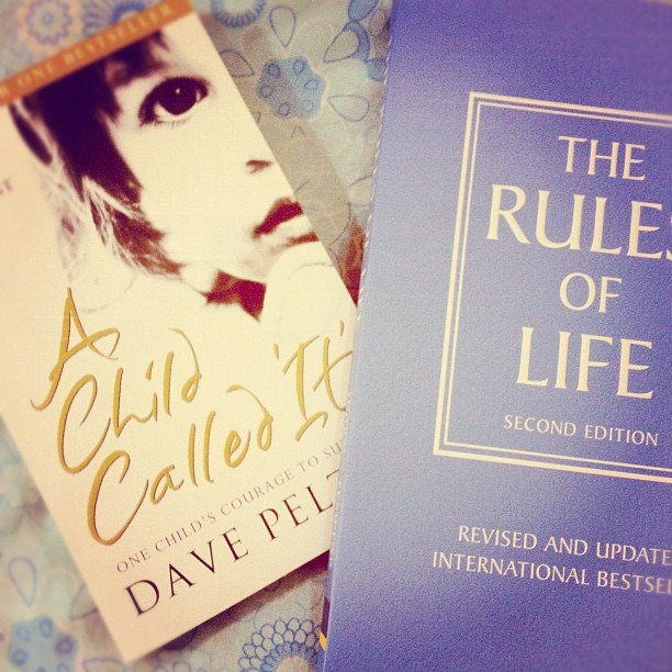 """Shiqui_f doubled up on her reading with A Child Called """"It"""" and The Rule of Life."""