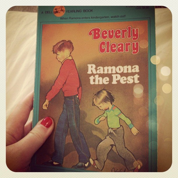 I stumbled upon Beverly Cleary's classic Ramona the Pest and just had to reread it! Just as good as I remembered it.