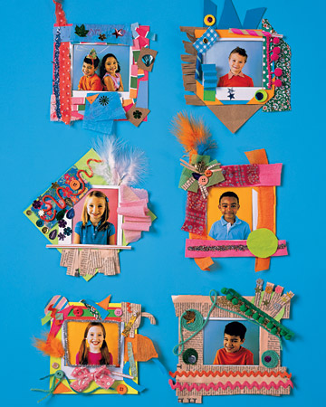 decorate paper photo frames 45 boredom busters for toddlers