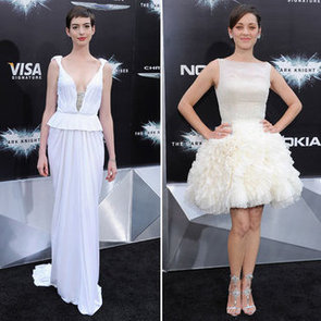 Who's Most Fab? Anne Hathaway Vs Marion Cotillard at The Dark Knight Rises New York Premiere