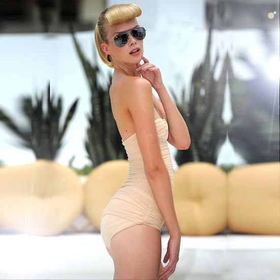 Swimwear Trends 2012 | Retro and Nude-Colored Suits