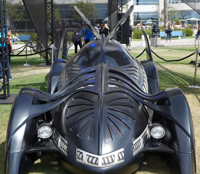 The Val Kilmer-era Batman Forever Batmobile.