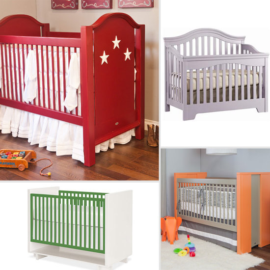 Colorful and Fun Unisex Cribs Add Vibrant Touches to the Nursery