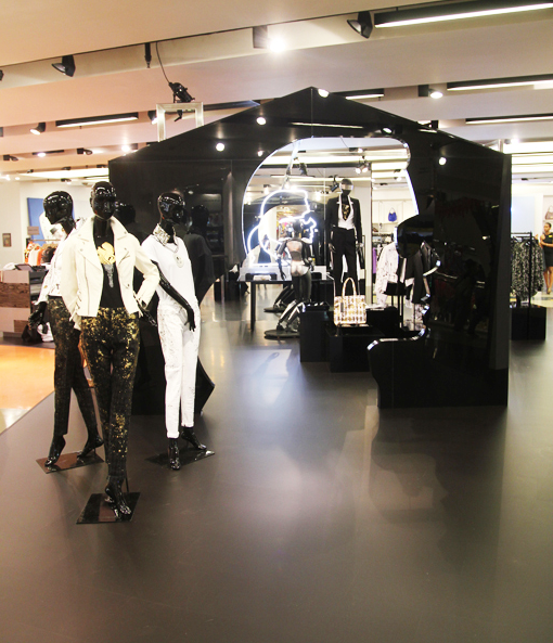 Karl Lagerfeld at Selfridges