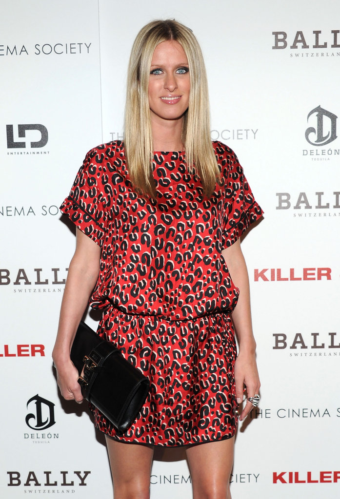 Nicky Hilton arrived at a screening of Killer Joe.