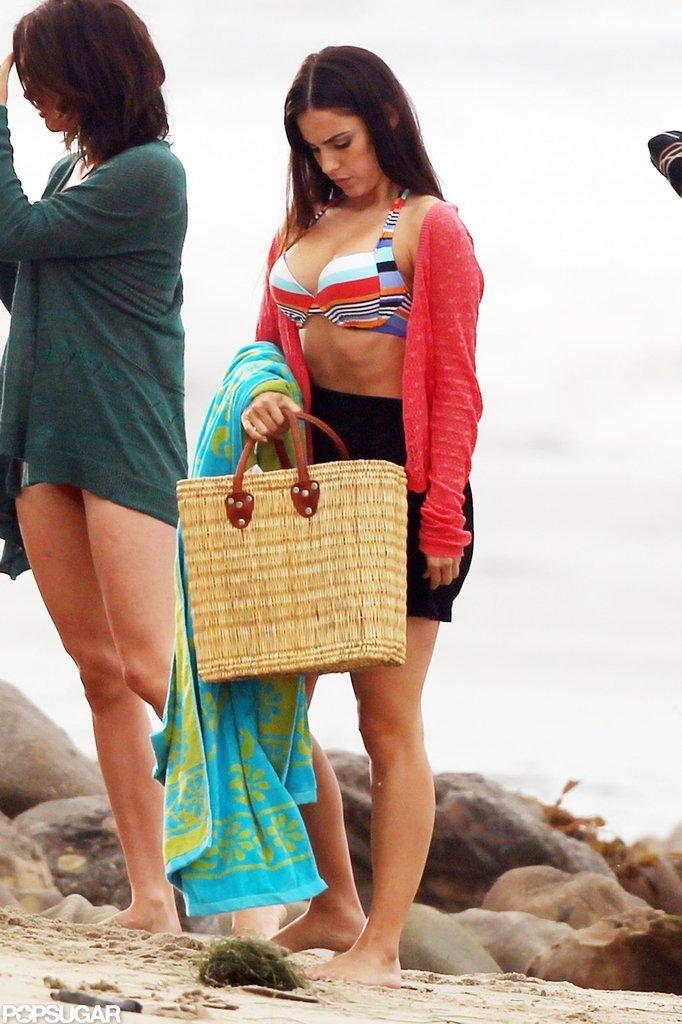 Jessica Lowndes shot 90210.