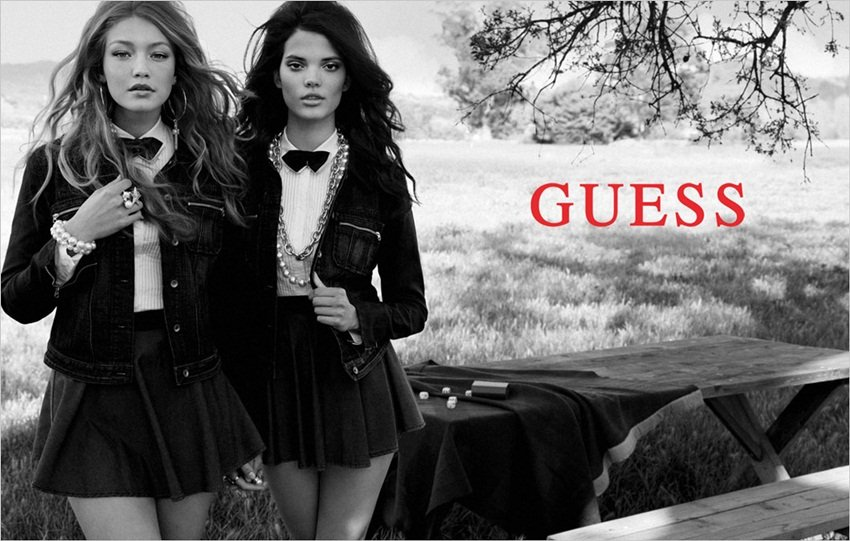 Metropolitan style, with a slight preppy flair, meets rural beauty in the Guess Fall campaign.