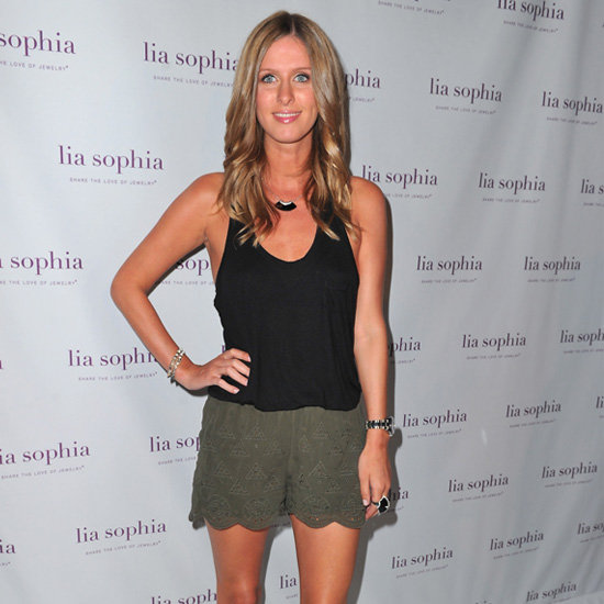 Scalloped Shorts (Celebrity Pictures)