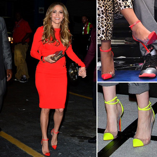 Hollywood's Still Obsessed With Christian Louboutin's Transparent Cap Toes