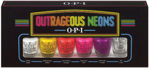 OPI Outrageous Neons Mini Nail Polish Collection