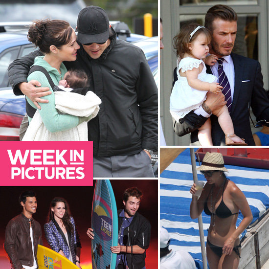 Australia S Rob Simmons Catches A Monitor: Best Celebrity Pictures Of Jessica Marais' Baby, Katy