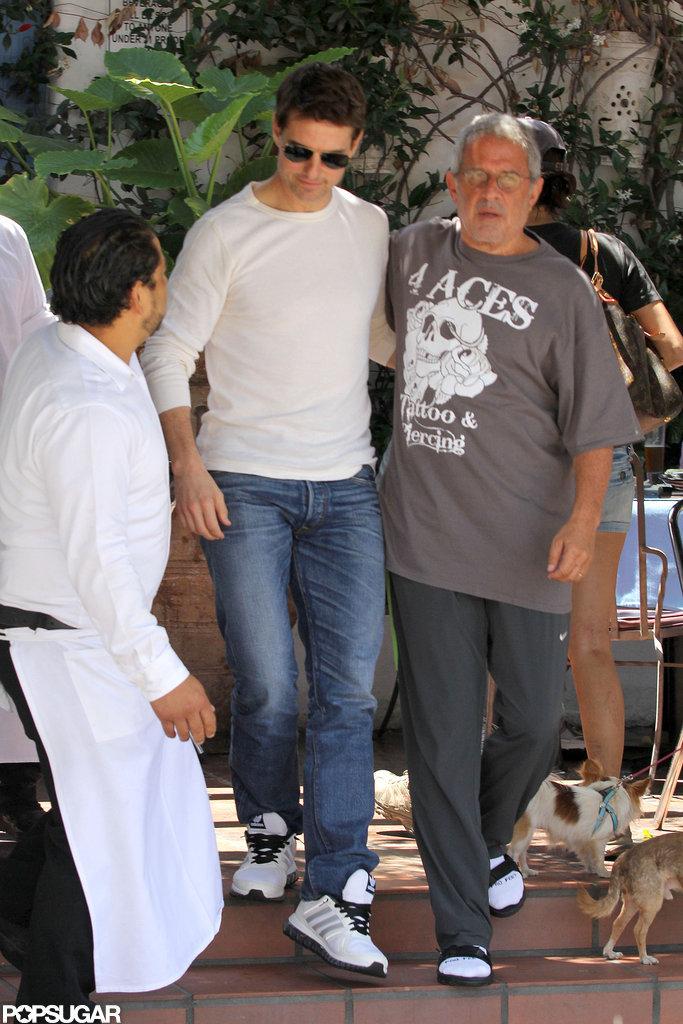 Tom Cruise Gets Back to LA Life