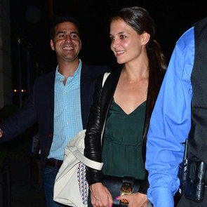 Katie Holmes Date With Mystery Man Pictures