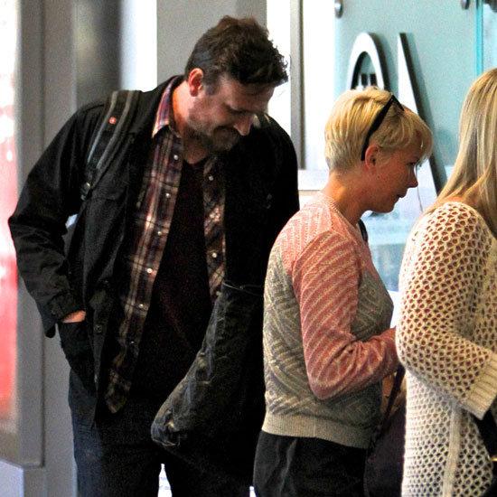 Jason Segel and Michelle Williams Head to LA With Matilda