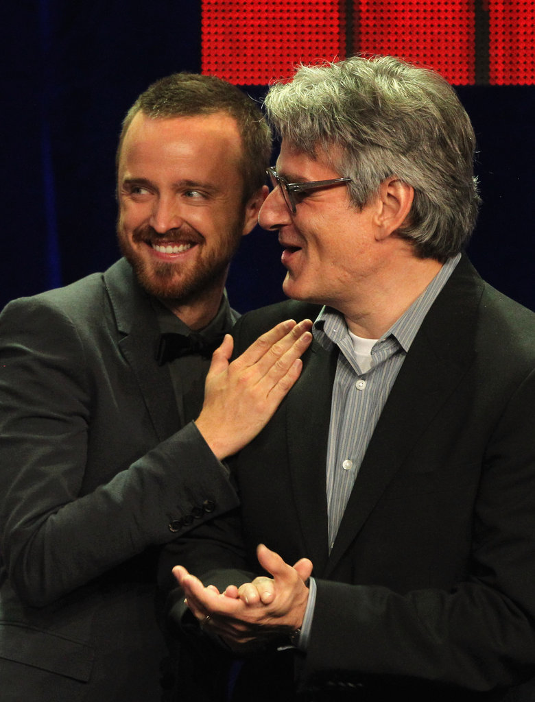 Aaron Paul was in attendance at the Television Critics Association Awards in LA.