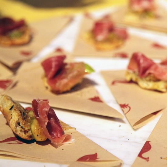 Locanda's Fig and Prosciutto Bite